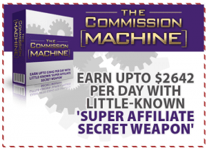 Affiliate marketing for beginners - Commission Machine